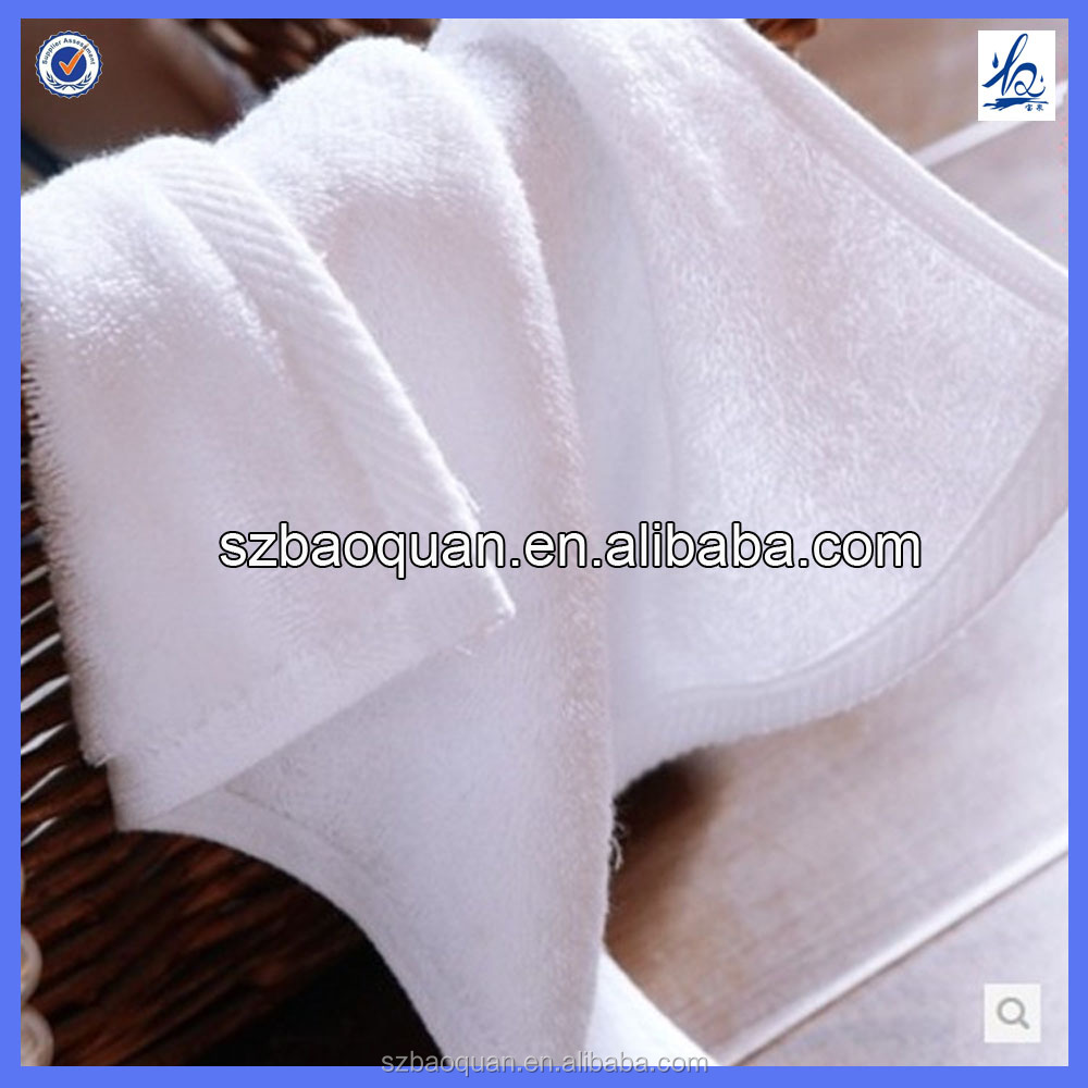 100% cotton plain terry soft white hand towel washcloth