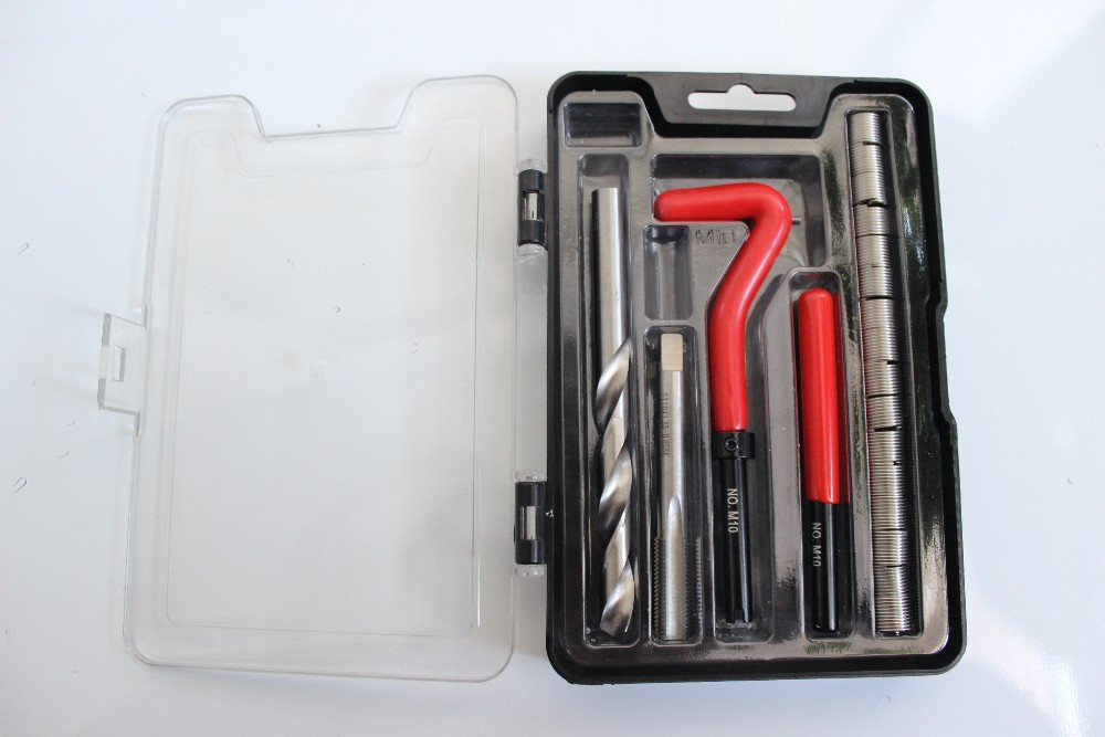 single size hand tool sets used to install threaded inserts