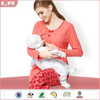 95f3c26e015a7 Essential Long Sleeve Maternity & Breastfeeding Pyjamas - Buy ...