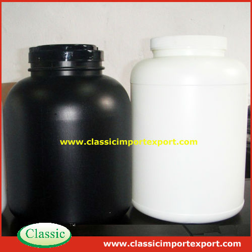 2.27 kgs HDPE Bottle/Tubs for sports nutrition supplements