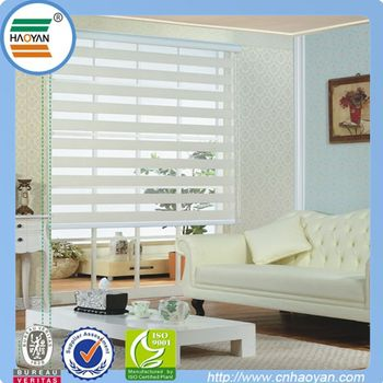 Top Class Office Automatic Curtains With 100% Polyester
