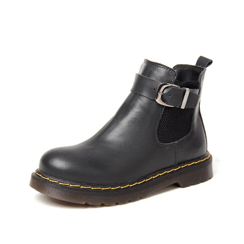 2015 Hot Sale Winter Women Boots Solid British Waterproof