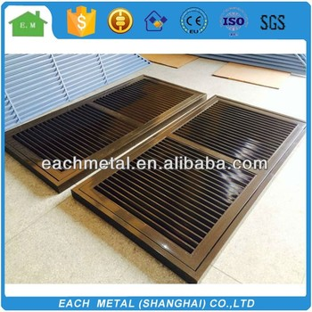 Fixed Aluminum Louvered Doorwindow Buy Aluminium Louver Door