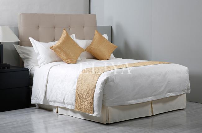 eliya 100 coton 4 toiles h tel ensemble de literie drap. Black Bedroom Furniture Sets. Home Design Ideas