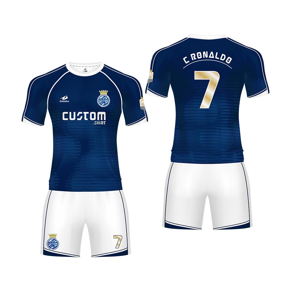 cf4e3313746 wholesale new model custom team soccer jersey design you own football  uniform sublimation sports jersey