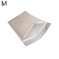 white paper and colored silver aluminum foil poly mailer air bubble bag