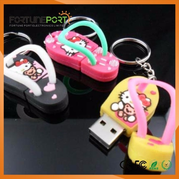 Slipper USB Popular Top Fashional Gadgets And Accessories 2017, Wedding Souvenirs Electronic Fortech Port Custom Usb Flash Driv