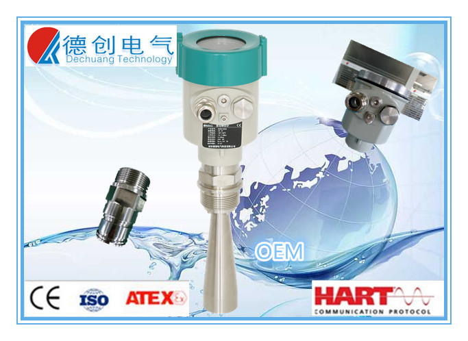 wireless water level sensor for borewell water tank level monitor digital dirty water level gauge