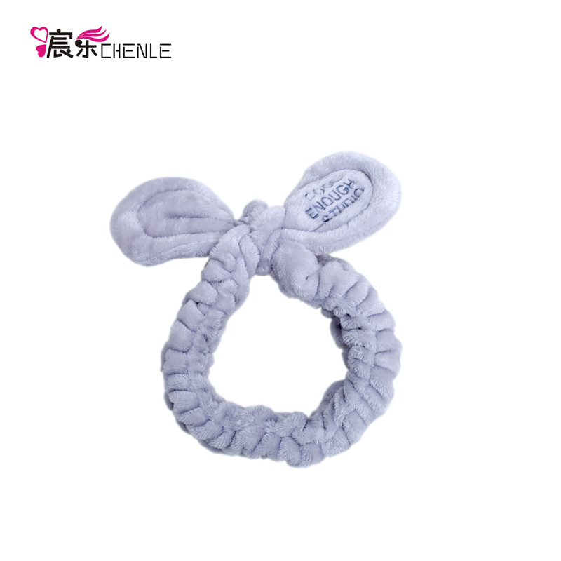 Lovely Criss-cross Rabbit Ear Custom Color <strong>Hair</strong> <strong>Accessories</strong> Tie Headband for Girls Women