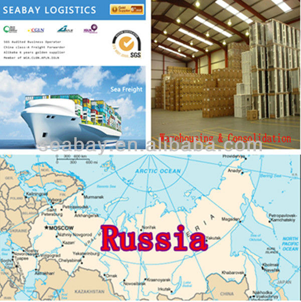 Shanghai freight forwarding agent to Russia