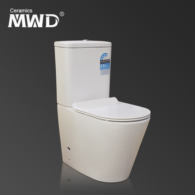 AAA quality two pieces power flush toilet