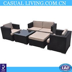 Kontiki Patio Furniture Wicker Conversation Group