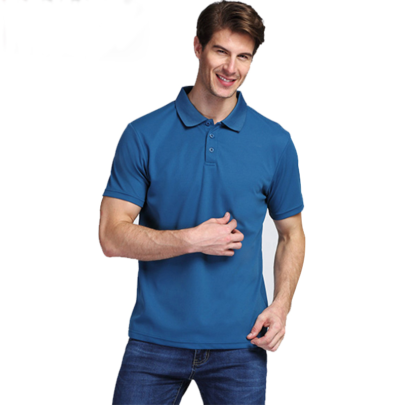 100% polyester high quality summer polo shirt cutom print cheap dri fit blank men custom polo t shirt short sleeve golf shirt