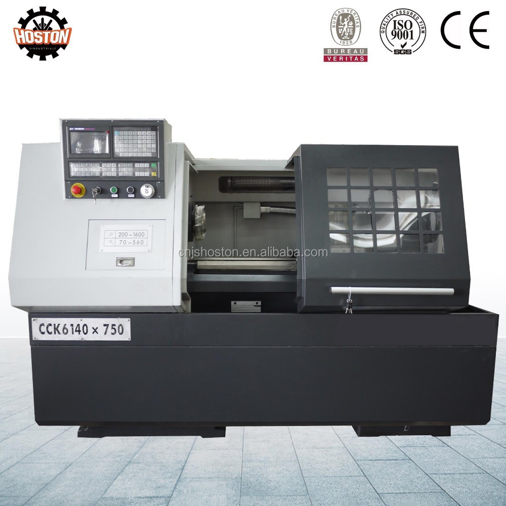 Hoston CCK Series automatic feeding cnc lathe with bar feeder with one year warranty