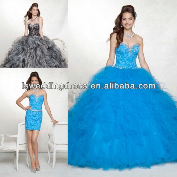 Quinceanera Dresses With Detachable Skirt, Quinceanera Dresses ...
