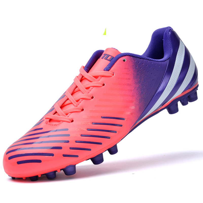6bd663d8d9b Get Quotations · mens football boots soocer shoes wide size soccer cleats  Elastic turf broken nail shoe flat training