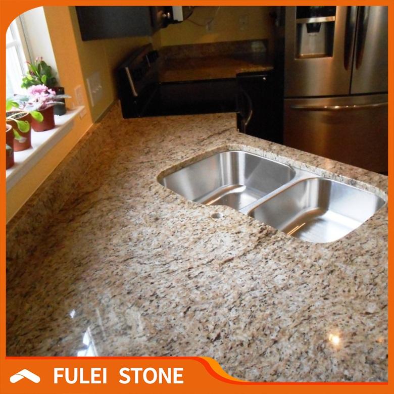 Giallo Ornamental Prefab Granite Countertop, Giallo Ornamental Prefab Granite  Countertop Suppliers And Manufacturers At Alibaba.com
