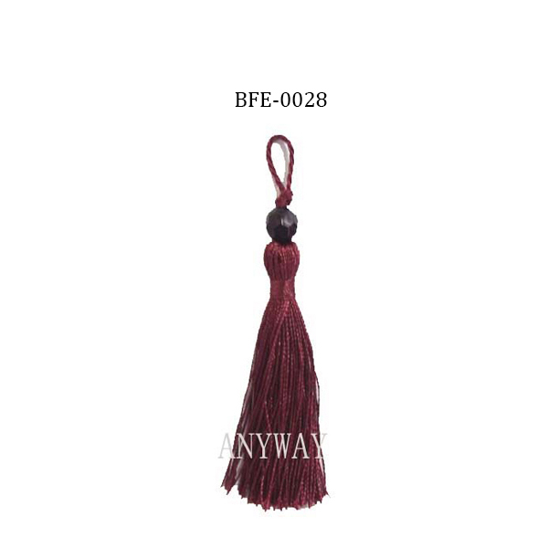 decorative tassels for curtains;car decorative tassel;decorative cord tieback tassel