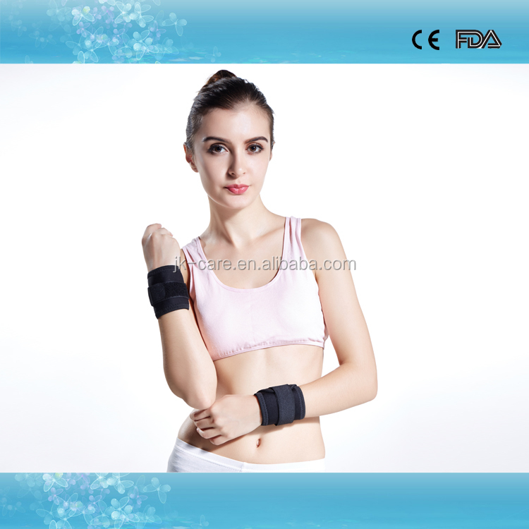 Neoprene wristband basketball sports training wrist wraps adjustable gym wrist straps