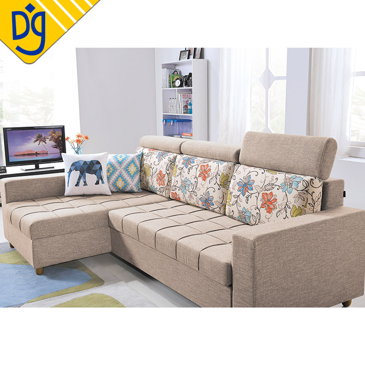 Exceptionnel Wooden L Shaped Sofa Bed With Storage, Wooden L Shaped Sofa Bed With Storage  Suppliers And Manufacturers At Alibaba.com