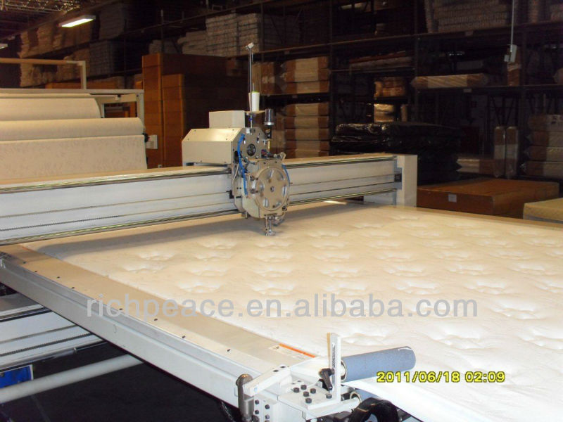 Richpeace Automatic Single Head Quilting Machine, Mattress Making Machine