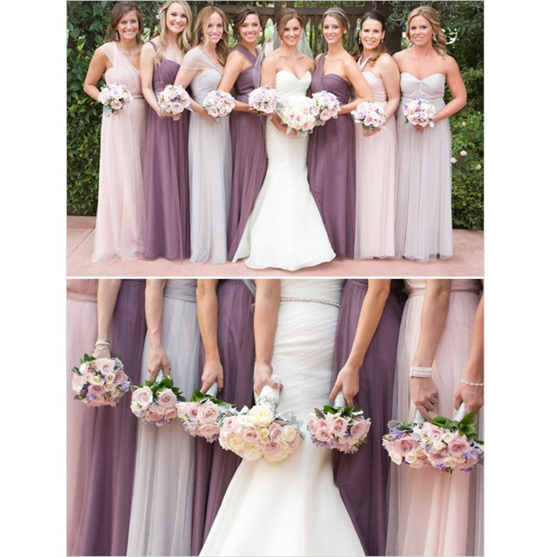Infinity Wedding Dress Larimeloom: Real 2015 New Floor Length Infinity Wrapping Convertible