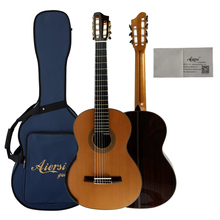 wholesale price Aiersi Handmade 7 string professional all solid wood classic guitar