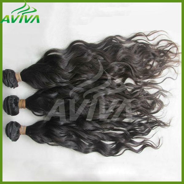 AVIVA miracle hair products pure virgin brazilian hair free wave hair packs