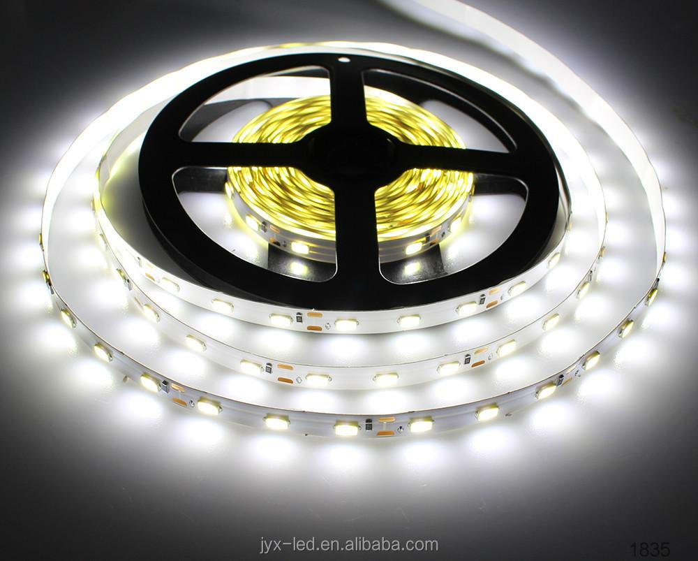 Hoge kwaliteit 3500 K 5500 K 45-50lm/led Epistar 24 V 5 m 5630 aquarium 5630 IP68 waterdichte led strip