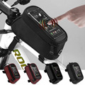 Cycling Bike Bicycle Frame Holder Pannier Mobile Phone Fit for 4 2 4 8 5 5