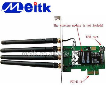 Bcm94331cd Bcm94360cd Pci-e 1x Adaptörü Dönüştürücü Kartı Hackintosh Ve Pc  - Buy Bcm94360cd Pci-e 1x Adaptörü,Pci-e 1x Adaptör
