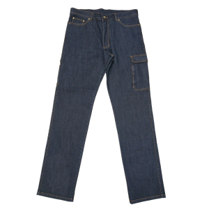 OEM label work pants cheap new design denim jean pant