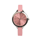 China Cheaper Ladies Gold Case Watches Thin Leather Cute Quartz Wrist Watch Geneva Heart Women Dress Bracelet Watches