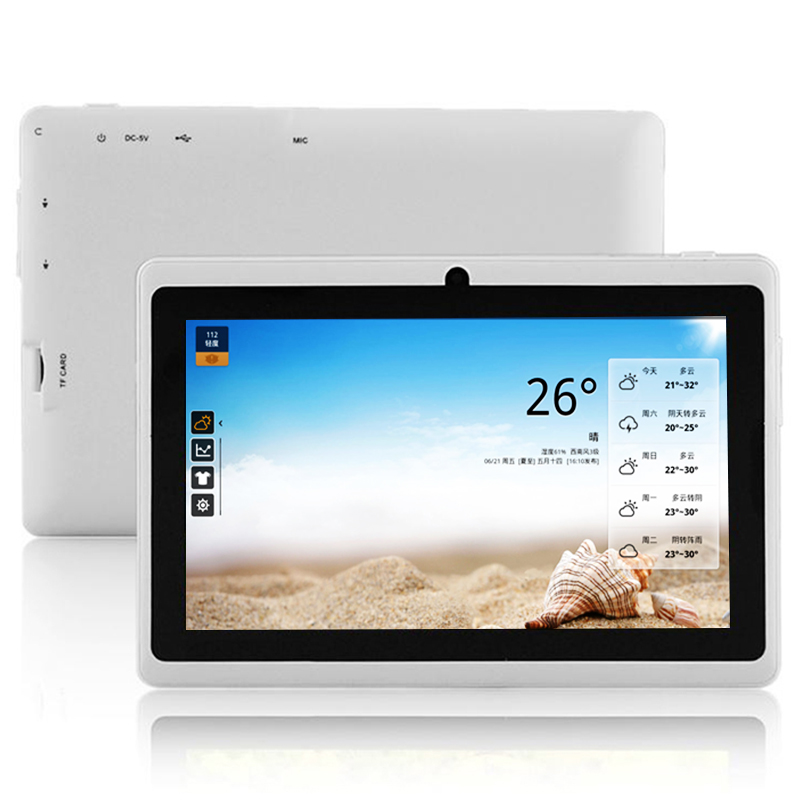 OEM tablet pc voor studenten 7 inch tablet PC consummer PC 1 + 8G wifi tablet