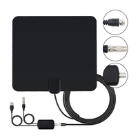 HDTV / DTV F Connector Amplified Indoor Digital TV Antenna