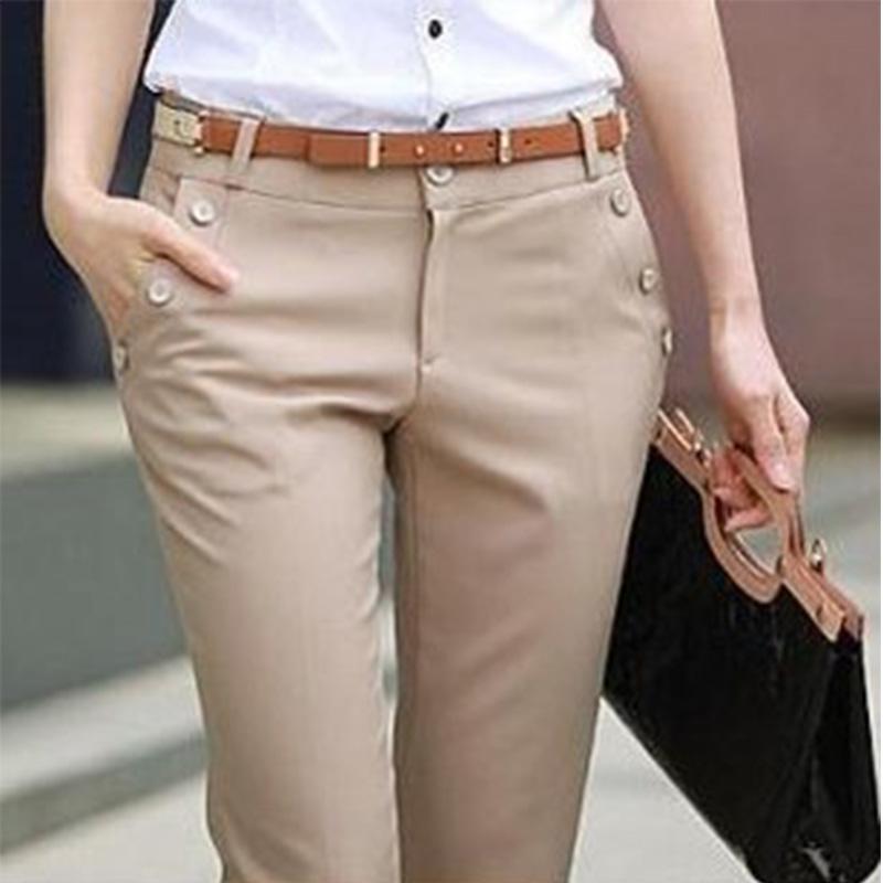 Plus Size Trousers Women Pants 2015 Spring Summer Casual OL Formal Harem Pants Women Office Dress