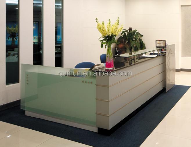 Mejor precio muebles de oficina de recepci n mostrador de for Precio mesa oficina