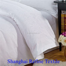 need a favorable price cotton hotel flat bed sheet white cheap