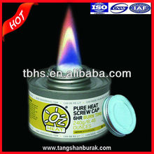ISO &Reach Compliant Screw Cap Liquid Wick Chafing Dish Fuel