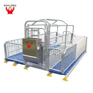 Hot dip galvanized pig farrowing cages for sale