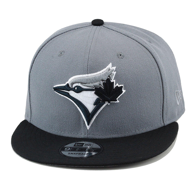 8df15051903 Buy New Era Toronto Blue Jays MLB Snapback Hat Cap Storm Grey Black ...