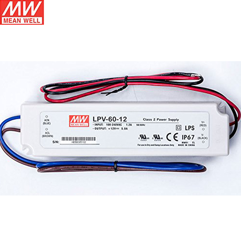 LED Meanwell wholesalers constant voltage single output meanwell 60v switching power supply, meanwell 60v switching power  at sewacar.co