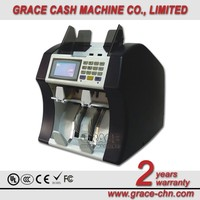 2 pocket Non-stop banknote sorting machine, value mix sorting & counting machine