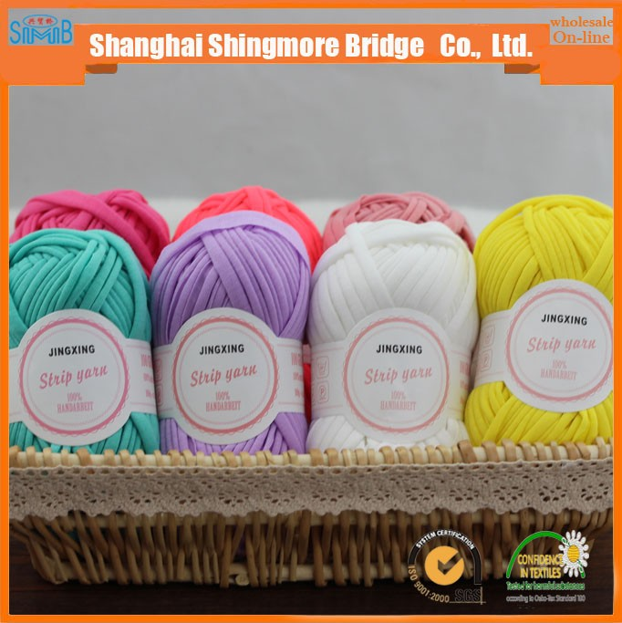 china oeko tex fancy yarn supplier shingmore bridge cheap sales stock t shirt yarn for knitwear