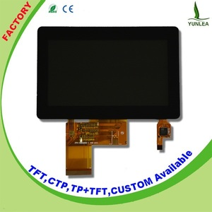 Small display screen 4.3 inch 480x272 40pin lcd capacitive touch screen module