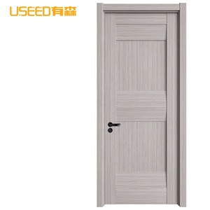 Customized high quality pivot wooden frame doors design house main gate front rotate wooden door