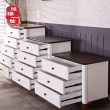 Wholesale bedroom furniture cabinet wooden multi drawer antique chest of drawers