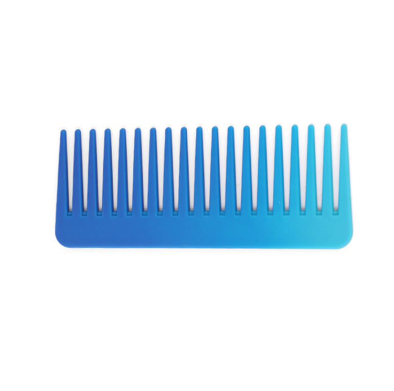 Xinlinda brand new fashion design cheap price blue ABS <strong>plastic</strong> board hair <strong>comb</strong>