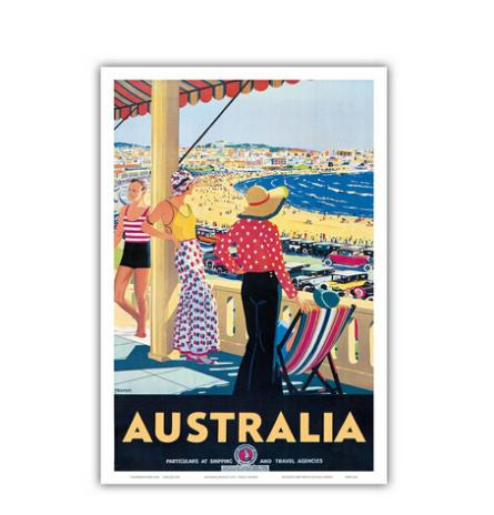 Nice New Bondi Beach Home Decoration Movie Poster Custom Fashion Classic 50x75CM Wall Sticker Free Shipping KO/375317