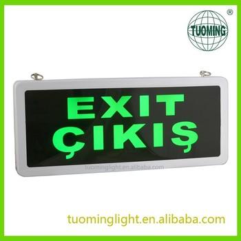 Fire exit sign bulb